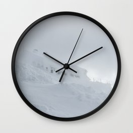 Lodge Draga Karolina on big mount Snežnik, Slovenia Wall Clock