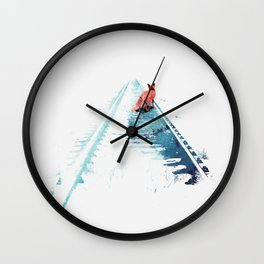From nowhere to nowhere Wall Clock