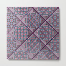 Basmati Pattern Metal Print