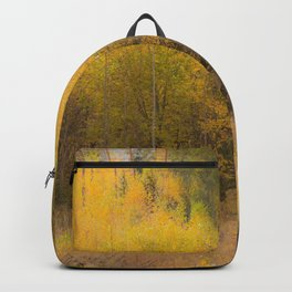 Fall color forest #decor #buyart #society6 Backpack