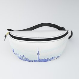 Toronto skyline with CN tower Fanny Pack