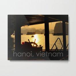 hanoi, vietnam Metal Print