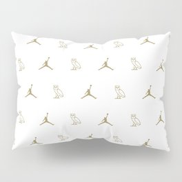 Jumpman - White Pillow Sham