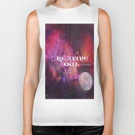 Creative Soul Moon Biker Tank