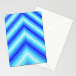 Blue Sabers Stationery Cards