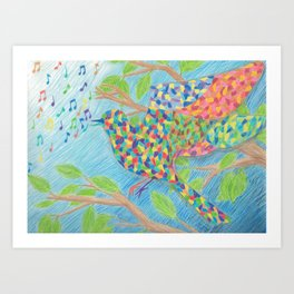 Kaleidescopic Art Print