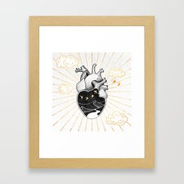 Desert Heart Inktober :: More Magick Framed Art Print