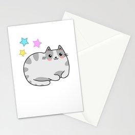 Kawaii Cat Manga Fans Kitten Lolita Stationery Cards