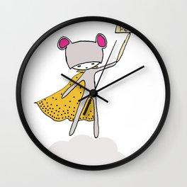 Baby Power Wall Clock