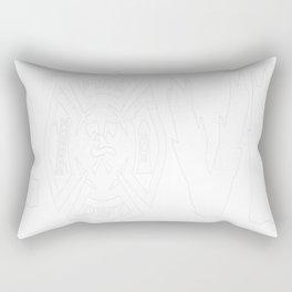 Love Firefighter Rectangular Pillow