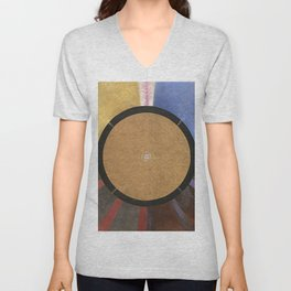 Altarpiece No.3 Abstract Paiting Unisex V-Neck