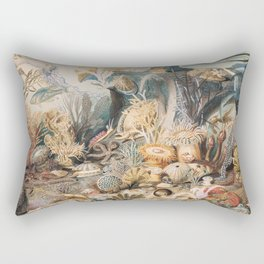 Ocean Life by James M. Sommerville Rectangular Pillow