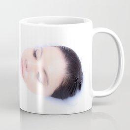 Bath of Milk with flower Coffee Mug