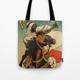 1887 Paris Desert Arabian expo advertising Tote Bag