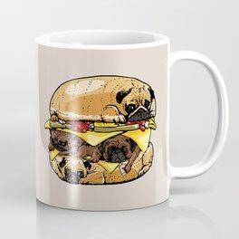 Pugs Burger Coffee Mug