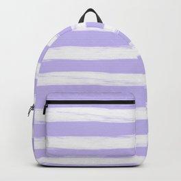 Lavender Purple Gross Stripes Backpack