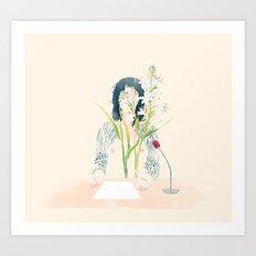 Ozawa Art Print
