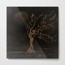 Tree Goddess - Moon Worship Metal Print