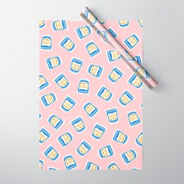New York Deli Coffee Pattern Wrapping Paper