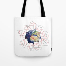 Wrapped to a Warped World Tote Bag
