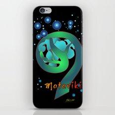 Matariki - Rise of The Pleiades iPhone & iPod Skin