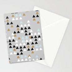 Scandinavian geometric pattern Stationery Cards