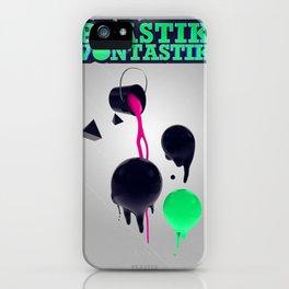 Plastik Vontastik - The Paint iPhone Case