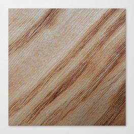 Unique beautiful wood veneer design Canvas Print