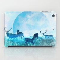 twilight iPad Cases featuring Twilight by Lynette Sherrard Illustration and Design