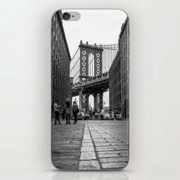 Manhattan Bridge Dumbo Brooklyn iPhone Skin