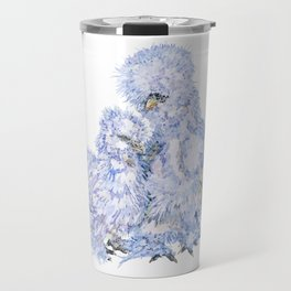 Silkie Chickens - Aspen and Toto Travel Mug