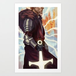Cullen Rutherford Poster Art Print