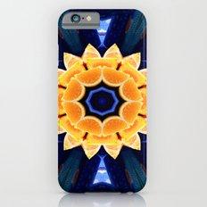 Orange Flower Mandala iPhone 6s Slim Case