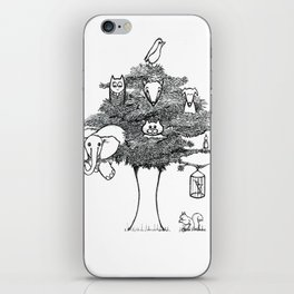 Animal Tree iPhone Skin