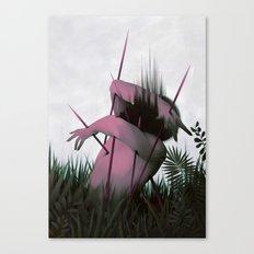 Between Rivers, Rilken No.5 Canvas Print