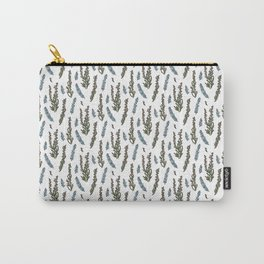 Winter heather Carry-All Pouch