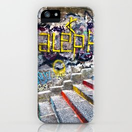 Sicilian Facade with Graffiti iPhone Case