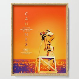 Cannes Film Festival, 72nd (2019) Serving Tray