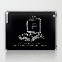 Turn the record over... The Gaslight Anthem Laptop & iPad Skin