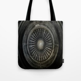 The Plane Engine Tote Bag
