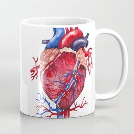 Watercolor heart Coffee Mug