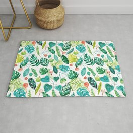 Tropical Monstera Maracas Rug