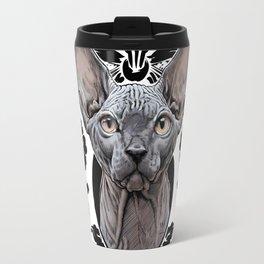 Sphynx Cat - decorative Travel Mug