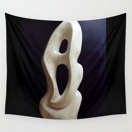 Metaphysical shape by Shimon Drory Wall Tapestry