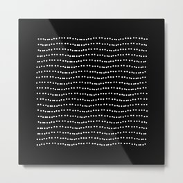 OI Dots Metal Print