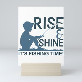 This is a Perfect Gift, Present or Souvenir for The Fishers. Mini Art Print