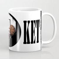 basketball Mugs featuring basketball by Penfishh