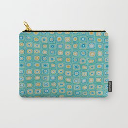 Yellow Blue Carry-All Pouch