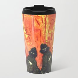 EXPOSURE SIDE 3 firefighters Travel Mug