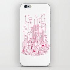 Kuala Lumpur (Red ver.) iPhone & iPod Skin
